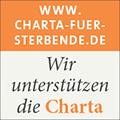 Wir unterstützen die Charta zur betreuung schwerkranker und sterbender Menschen in Deutschland